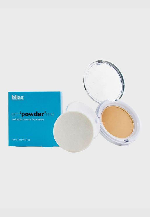 Em'powder' Me Buildable Powder Foundation - # Buff