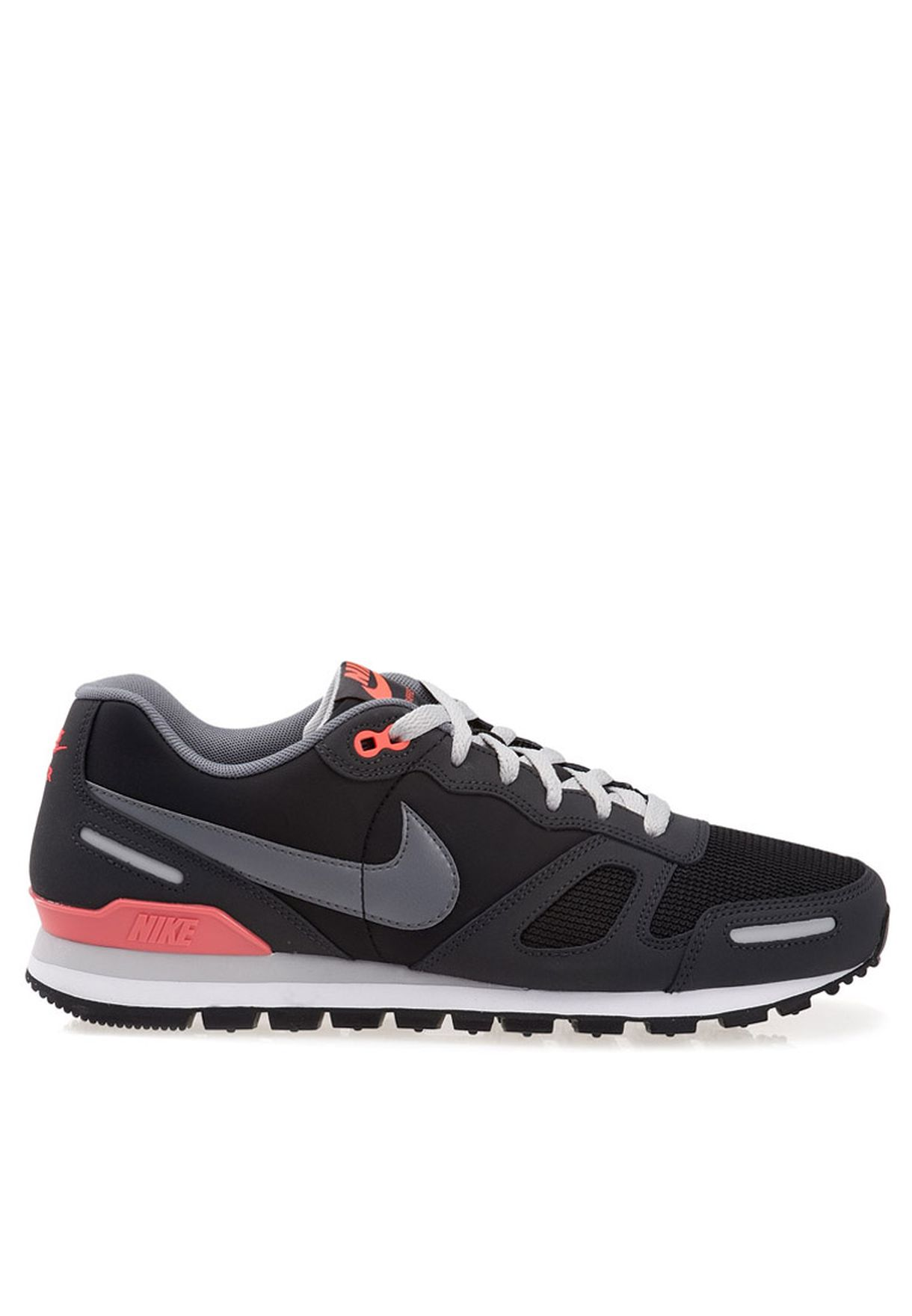 b1ee1af0385a Shop Nike black NIKE AIR WAFFLE TRAINER Sports Shoes 429628 ...