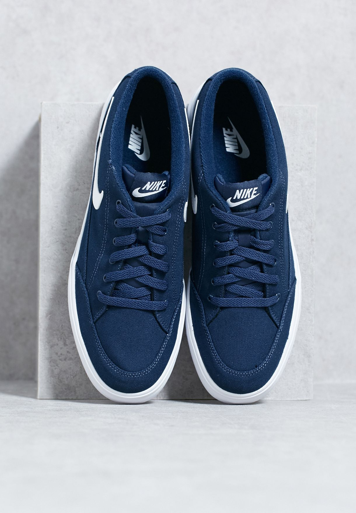 promo code 0a175 6b689 Shop Nike navy GTS 3916 Textile 840300-410 for Men in Oman .