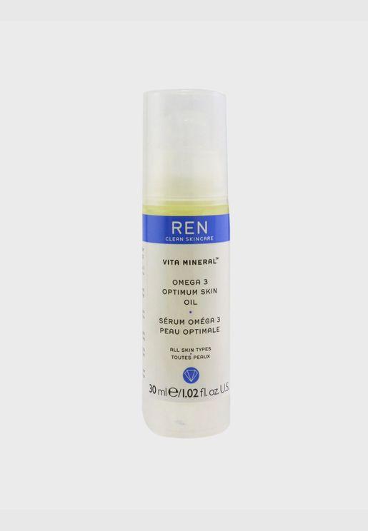 Vita Mineral Omega 3 Optimum Skin Serum Oil (For Dry, Sensitive & Mature Skin)