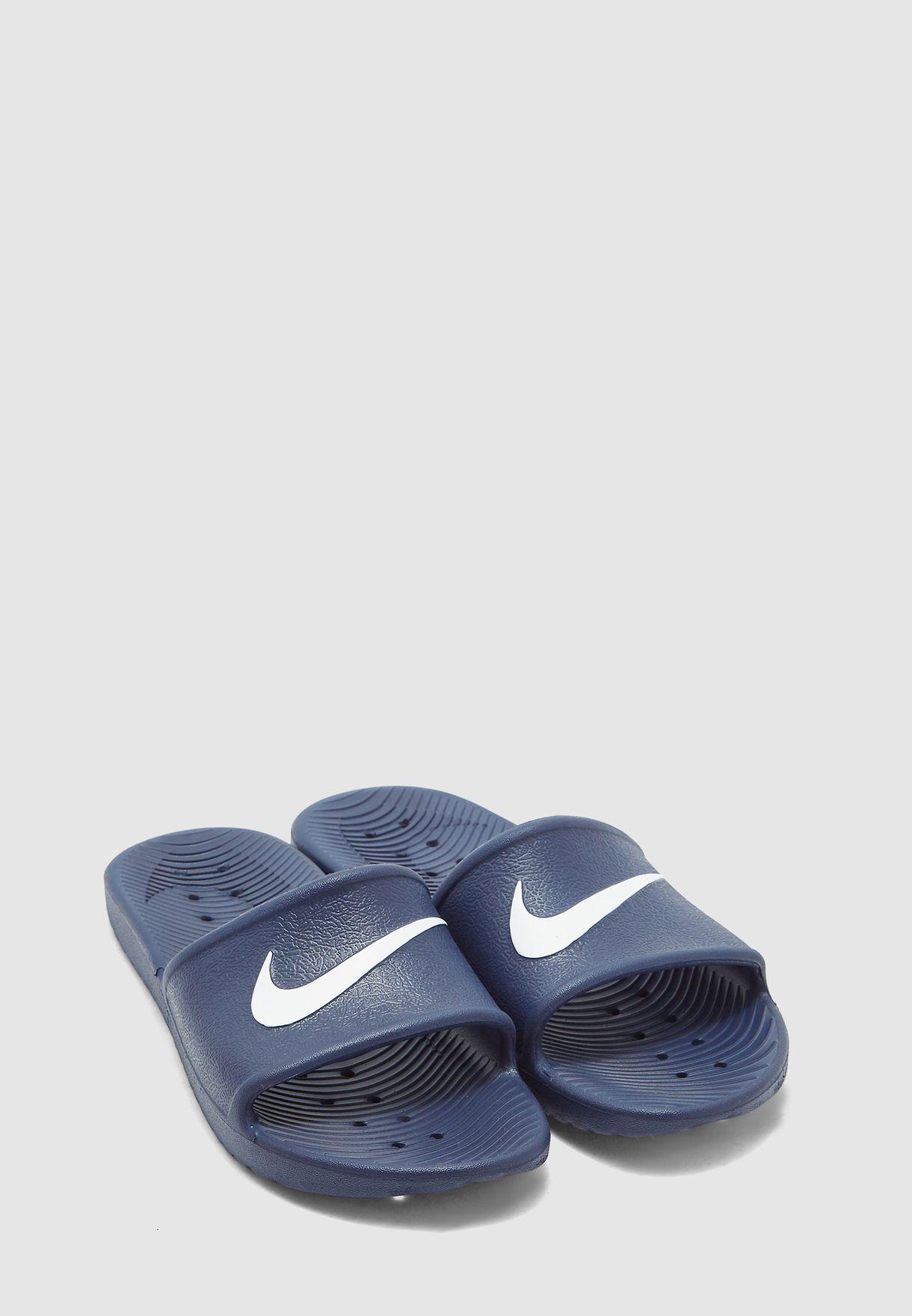 meet 6ebbc 0e4d0 Shop Nike navy Kawa Shower 832528-400 for Men in UAE - NI727SH98ZHH