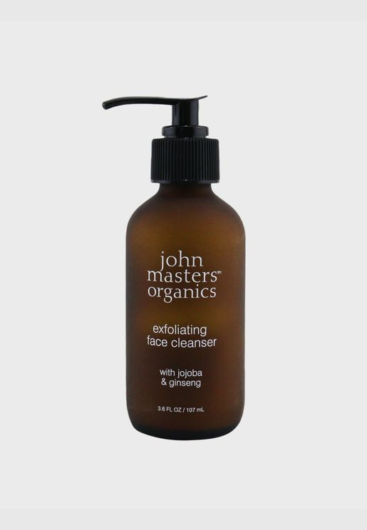 Exfoliating Face Cleanser With Jojoba & Ginseng