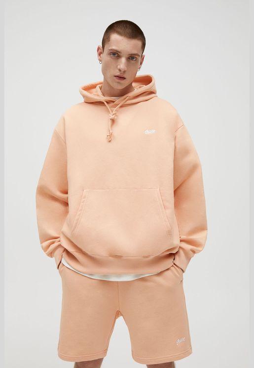 Basic coloured hoodie