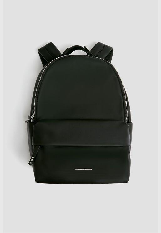 Black city backpack