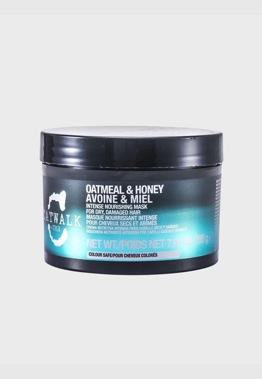 Catwalk Oatmeal & Honey Intense Nourishing Mask (For Dry, Damaged Hair)
