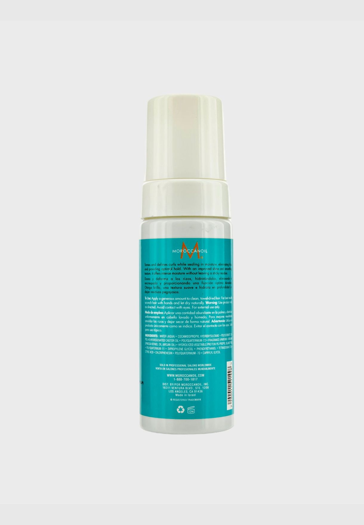 Curl Control Mousse (For Curly to Tightly Spiraled Hair)