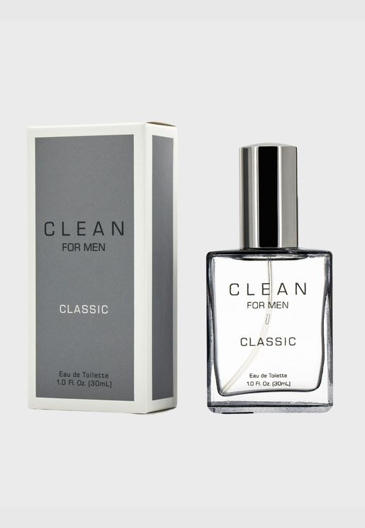 Clean For Men Classic ماء تواليت سبراي