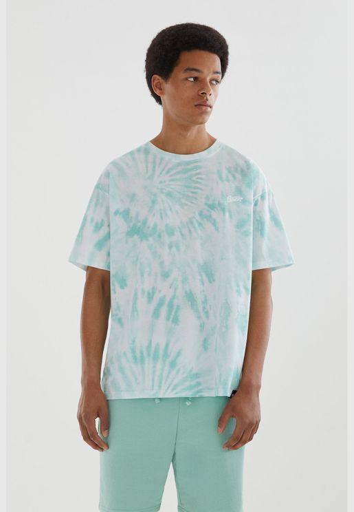 Unisex tie-dye STWD T-shirt
