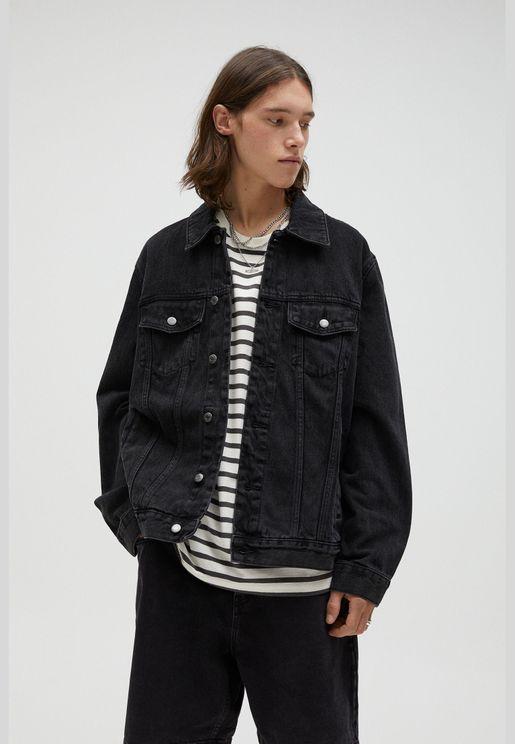 Basic cotton denim jacket