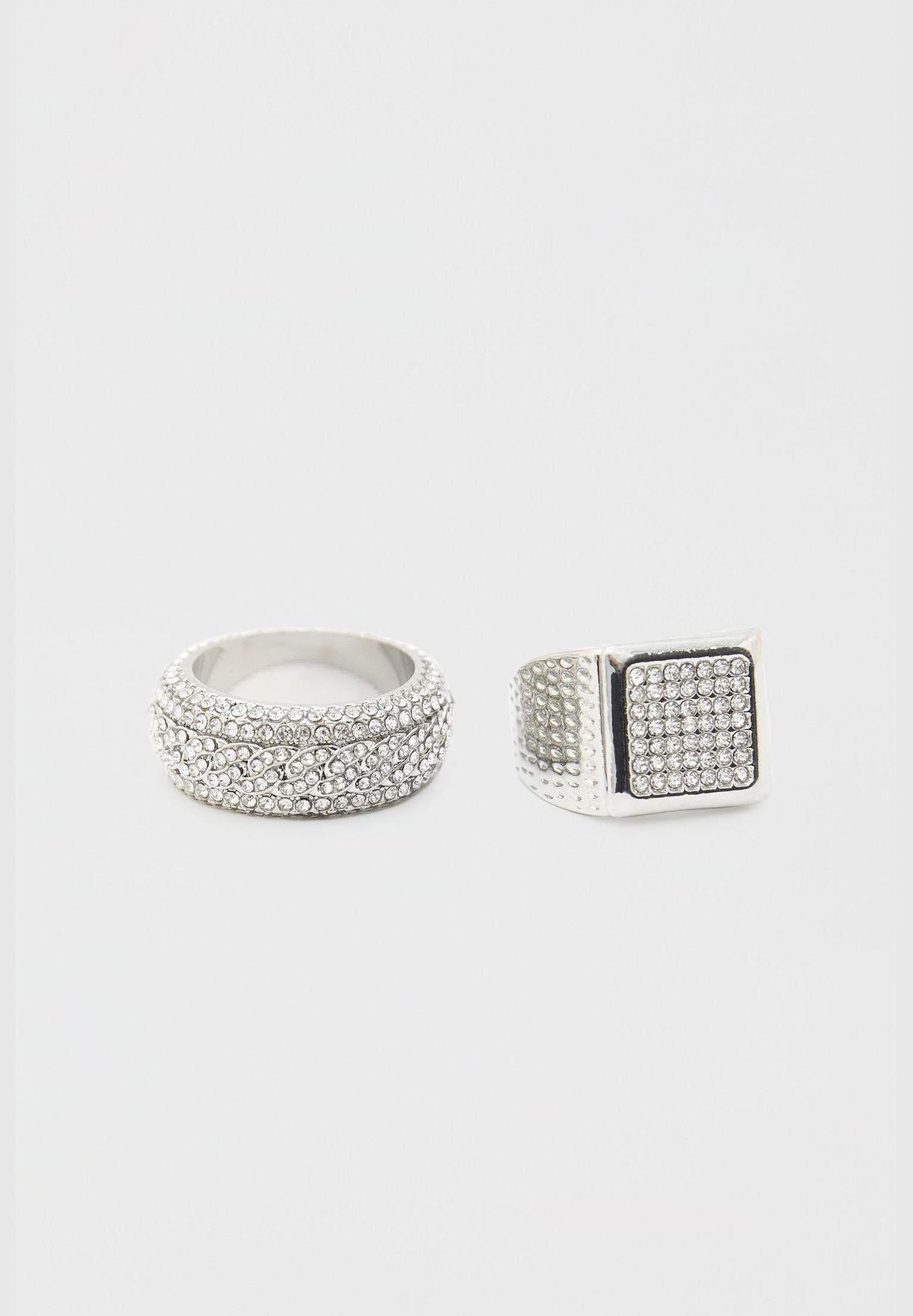 حزمة من خاتمين بلينغ بلينغ