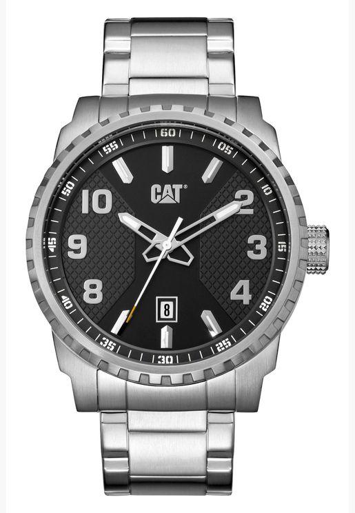 ساعة كات بوديوم بسوار ستانلس ستيل للرجال - AE14111131