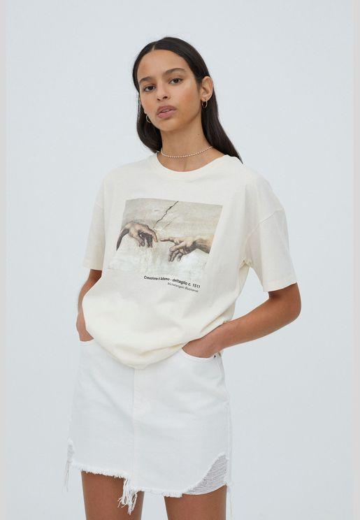 Michelangelo Sistine Chapel T-shirt