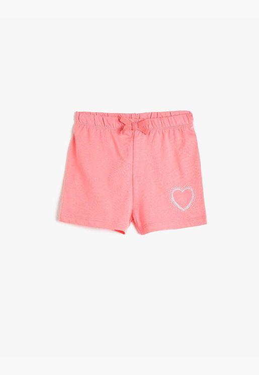 Shimmer Detailed Shorts