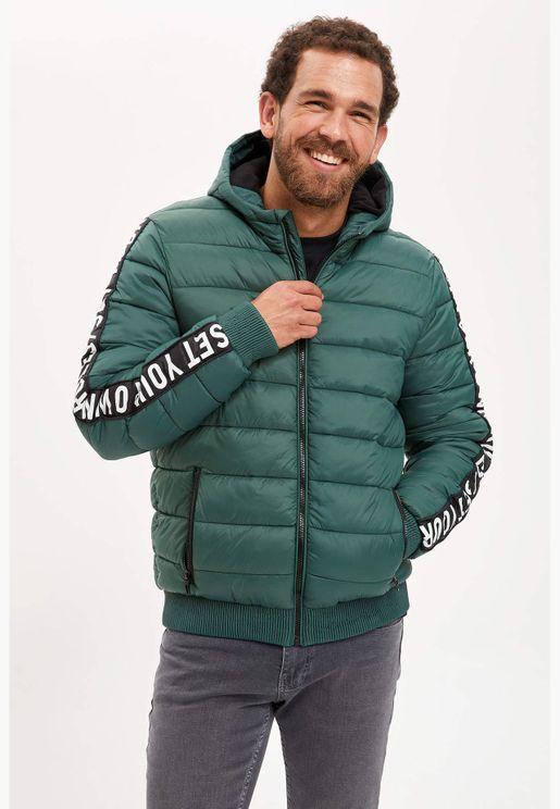 Man Slim Fit Coat