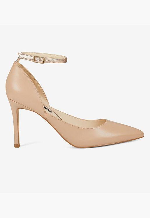 حذاء إيرا بكعب عالي