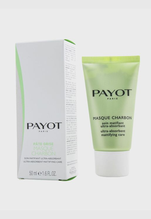 Pate Grise Masque Charbon - Ultra-Absorbent Mattifying Care