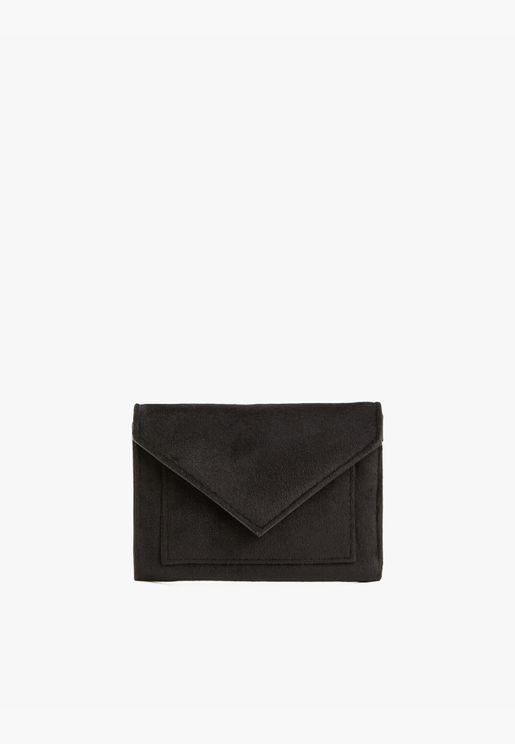 Envelope Wallet Leather Look Woman