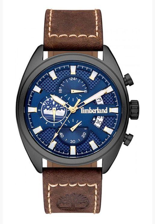 ساعة سيبروك بسوار جلد للرجال من تمبرلاند - TBL15640JLU-03