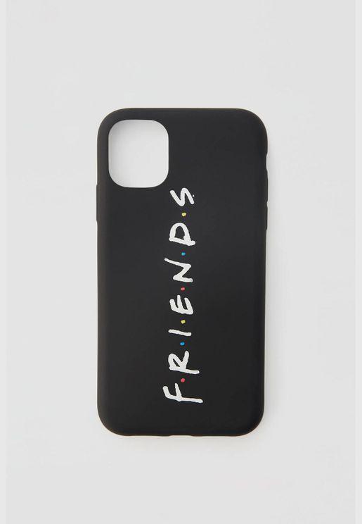 حقيبة هاتف ذكي سوداء Friends