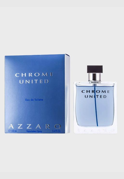 Chrome United ماء تواليت سبراي