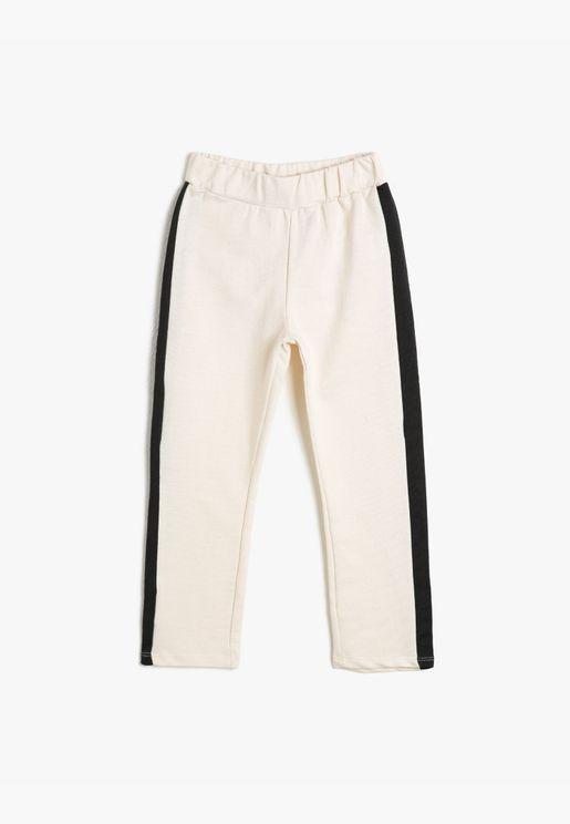 Banded Jogging Pants