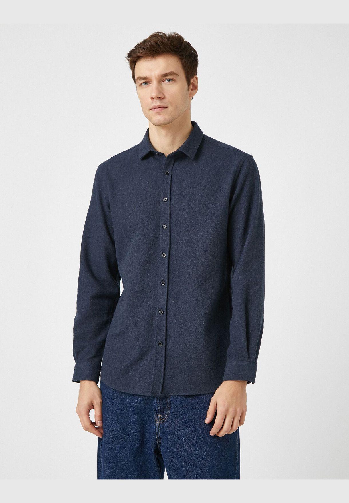Classic Collar Long Sleeve Shirt