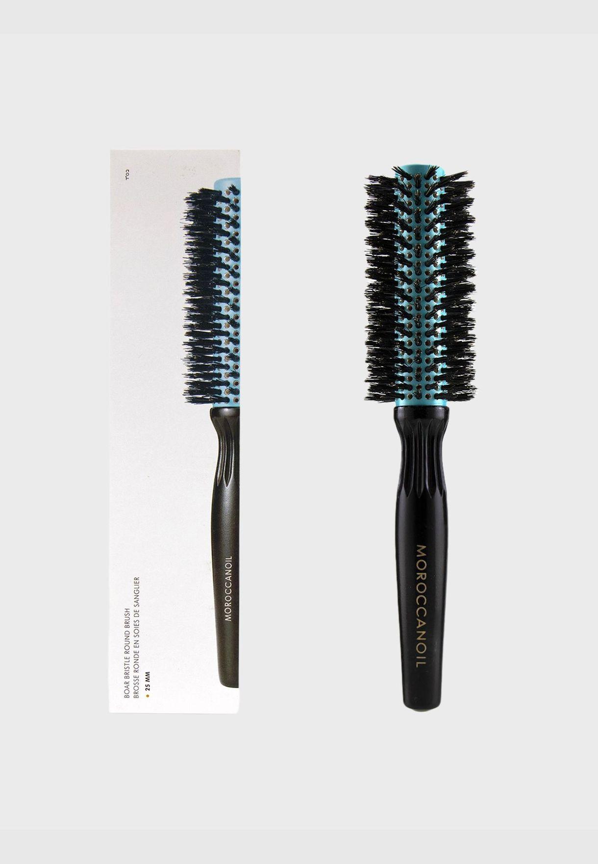 Boar Bristle Round Brush - # 25MM