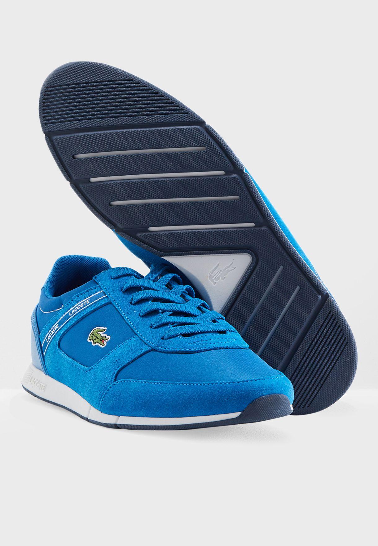 a3b48ae08 Shop Lacoste blue Menerva Sport Sneakers 36CAM0054BN2 for Men in UAE ...
