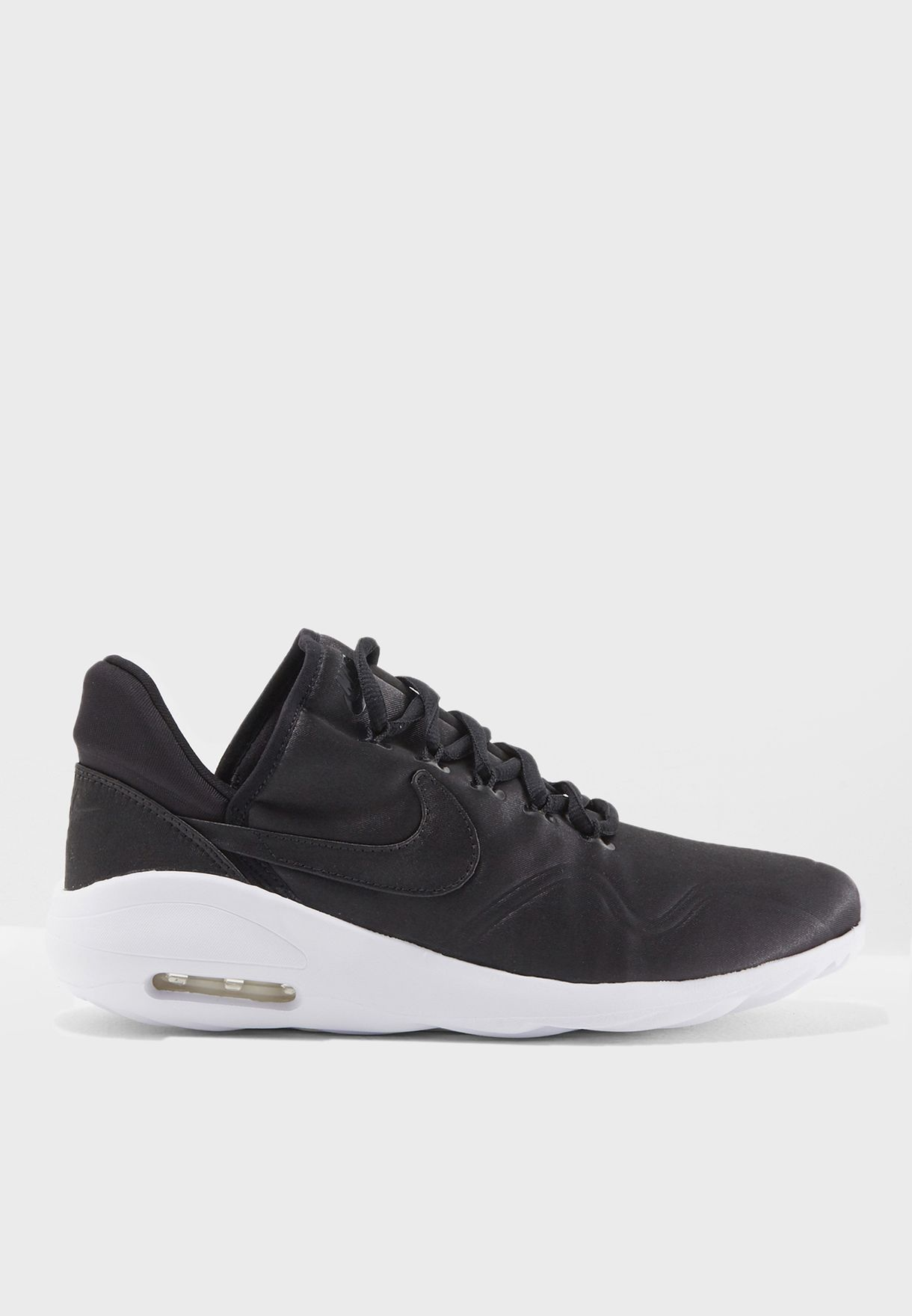 Shop Nike black Air Max Sasha Satin AJ0884-001 for Women in Saudi ... ede80cd41
