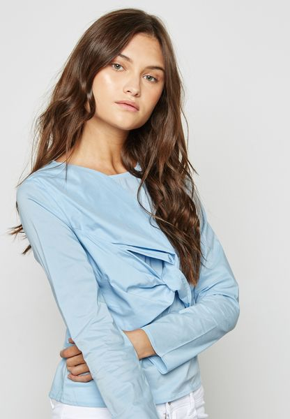 Twisted Front Detail Top