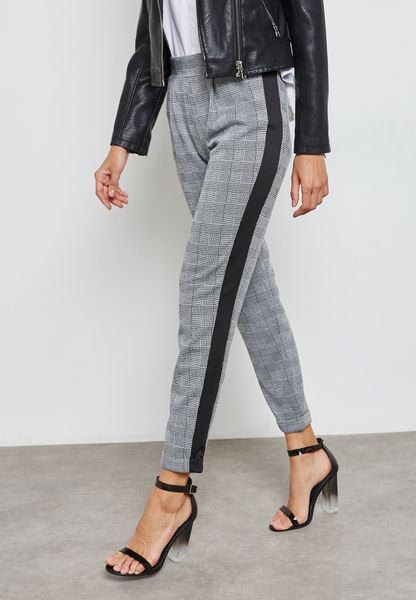 Side Striped Pants