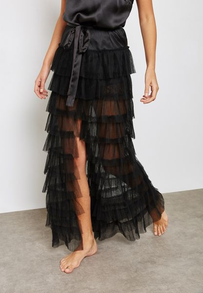 Tiered Tulle Skirt