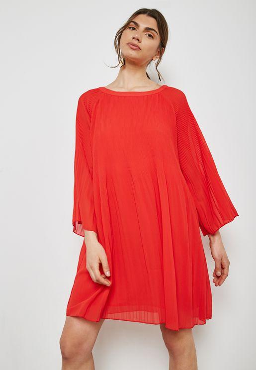 فستان شفاف ببطانة