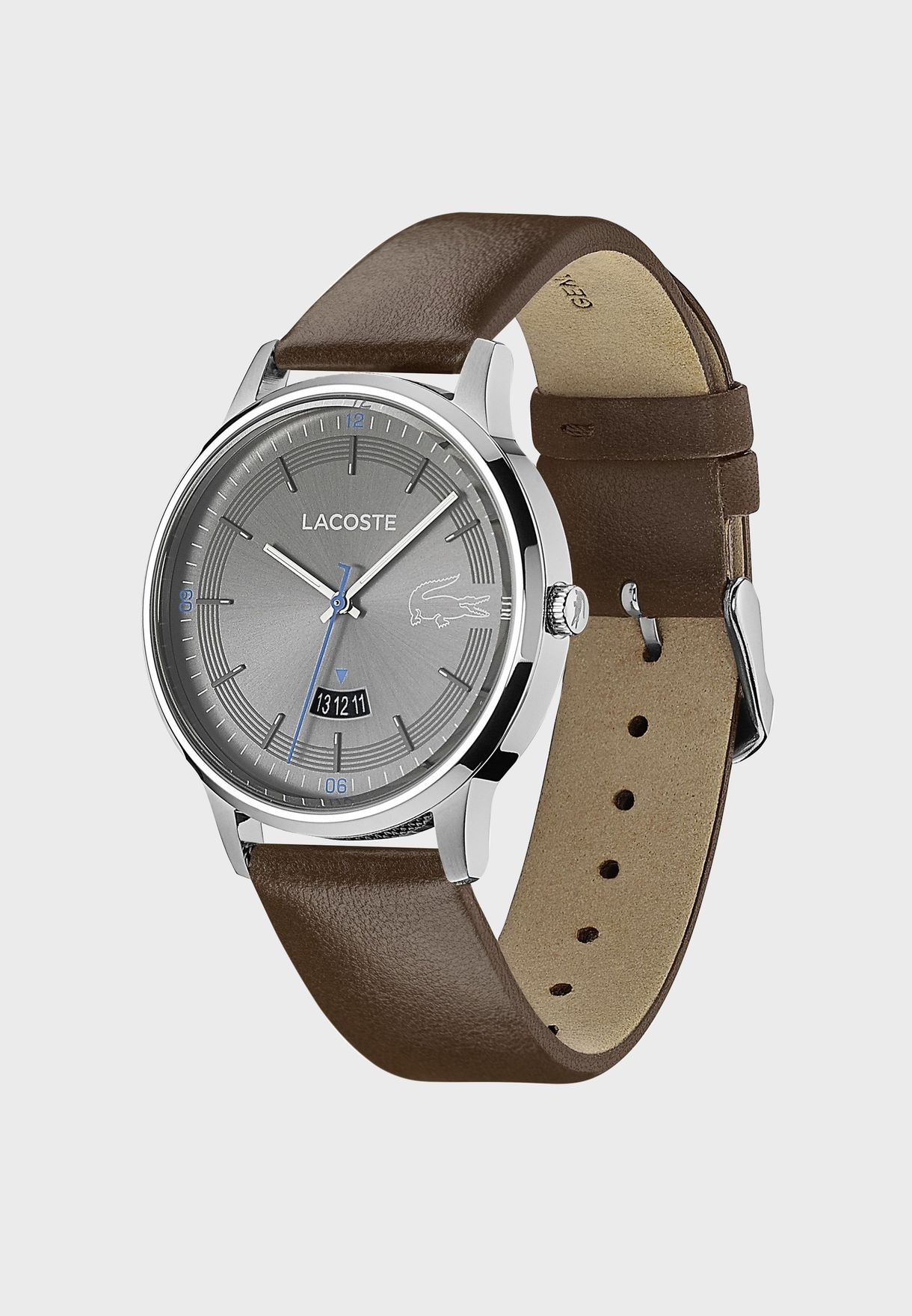 Lacoste MADRID Leather Strap Watch for Men - 2011033