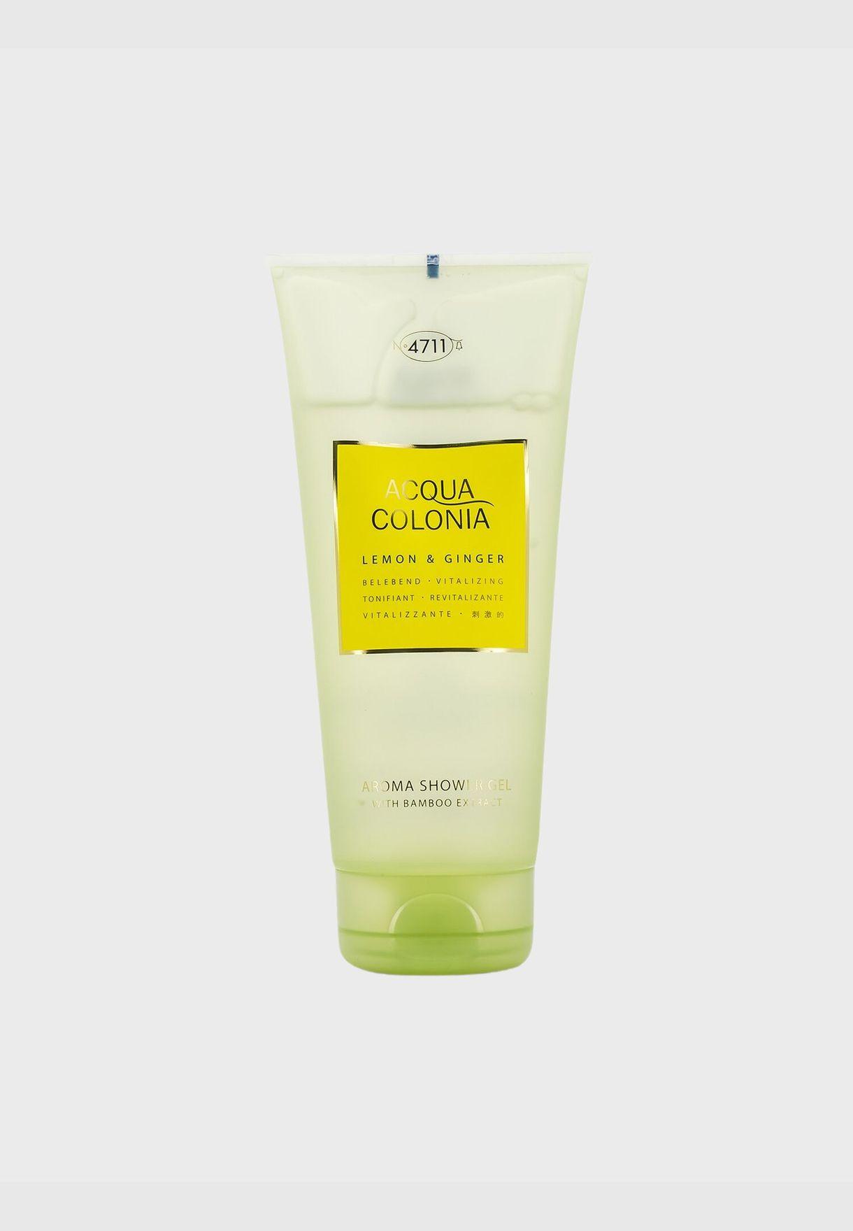 جل الدش Acqua Colonia Lemon & Ginger Aroma