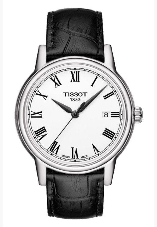 ساعة تيسو كارسون كوارتز بسوار جلدي - T085.410.16.013.00