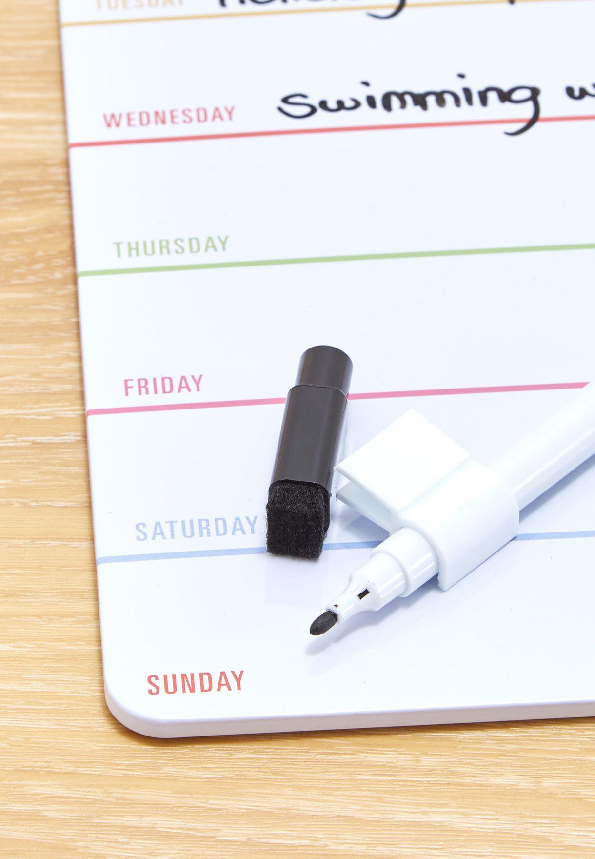 جدول تخطيط يومي ممغنط