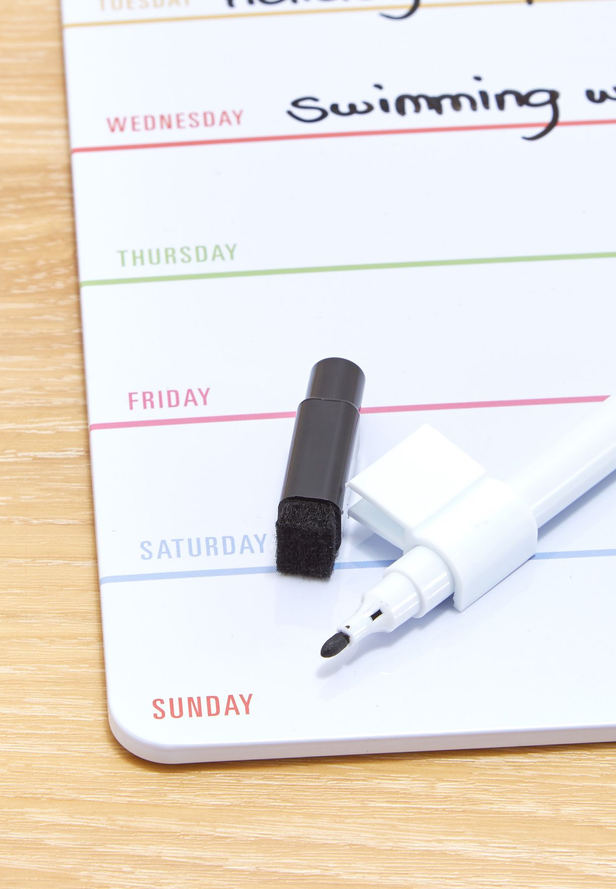 Magnetic Dry Erase planner