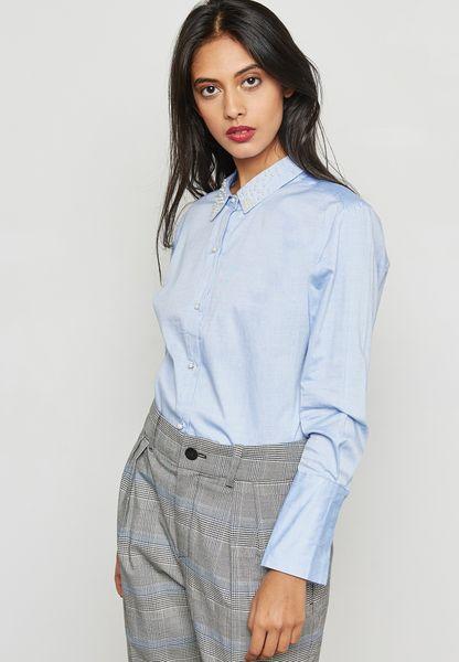 Pearl Collar Shirt