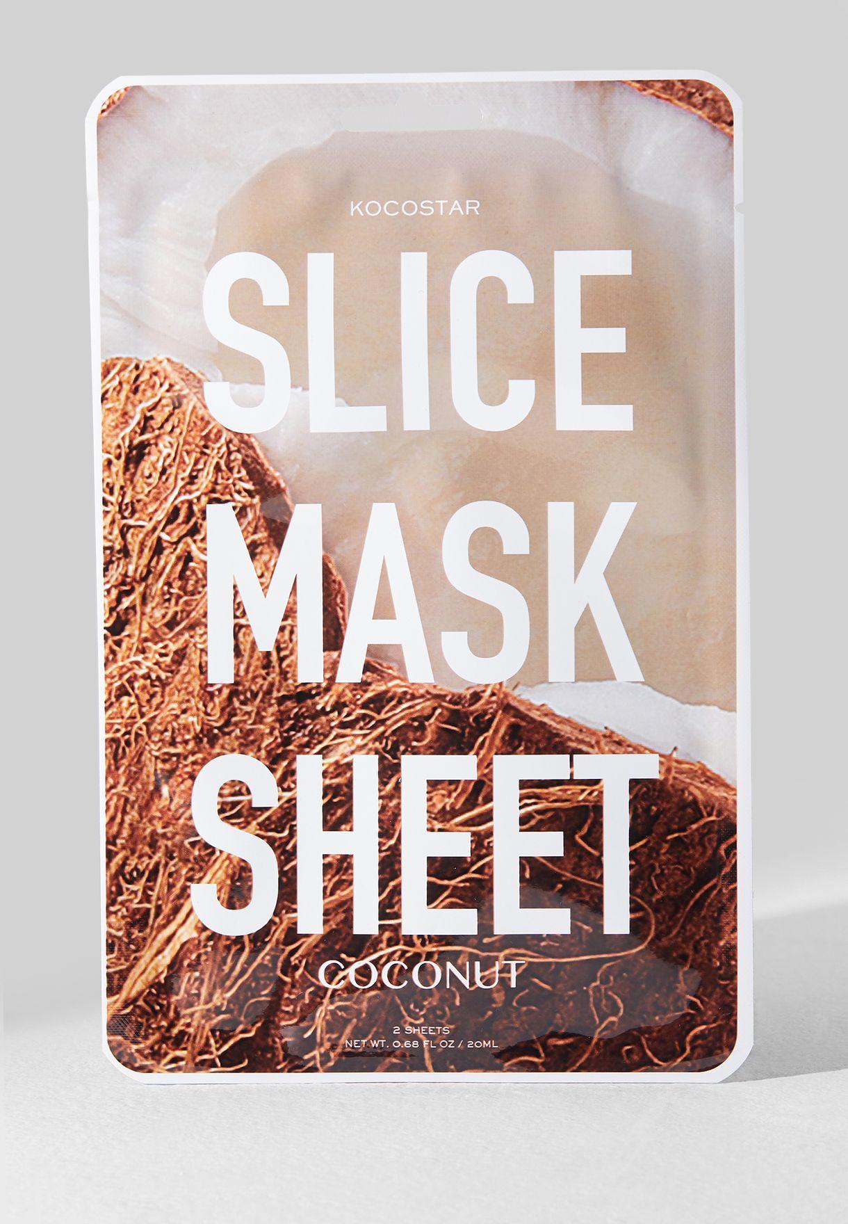 Coconut Slice Mask