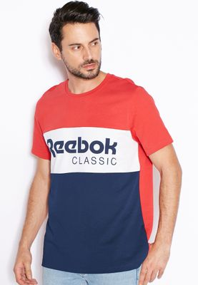 Reebok Archive Stripe T-Shirt