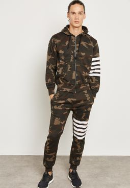 Camo Striped Tracksuit