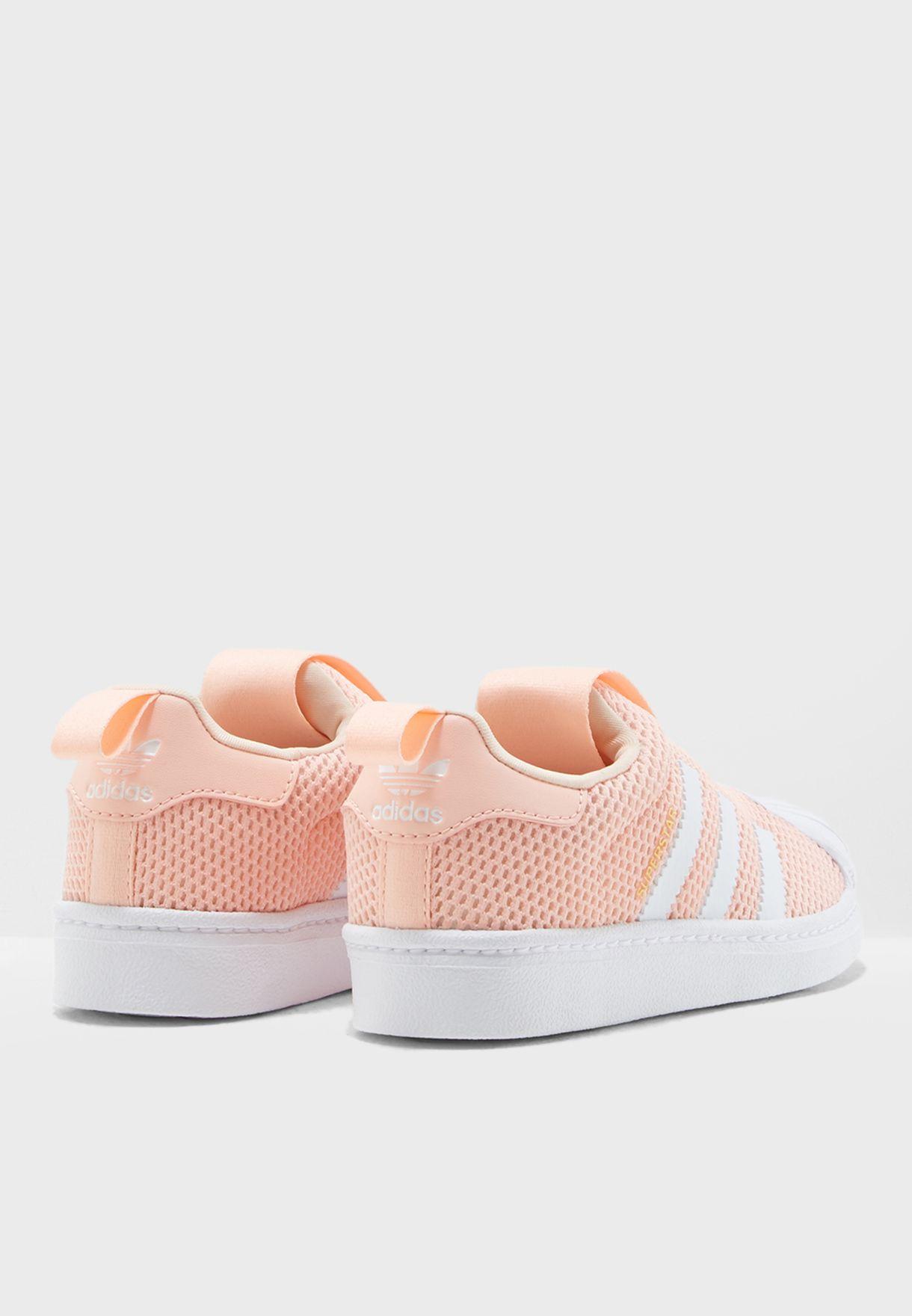 حذاء سوبر ستار للاطفال 360