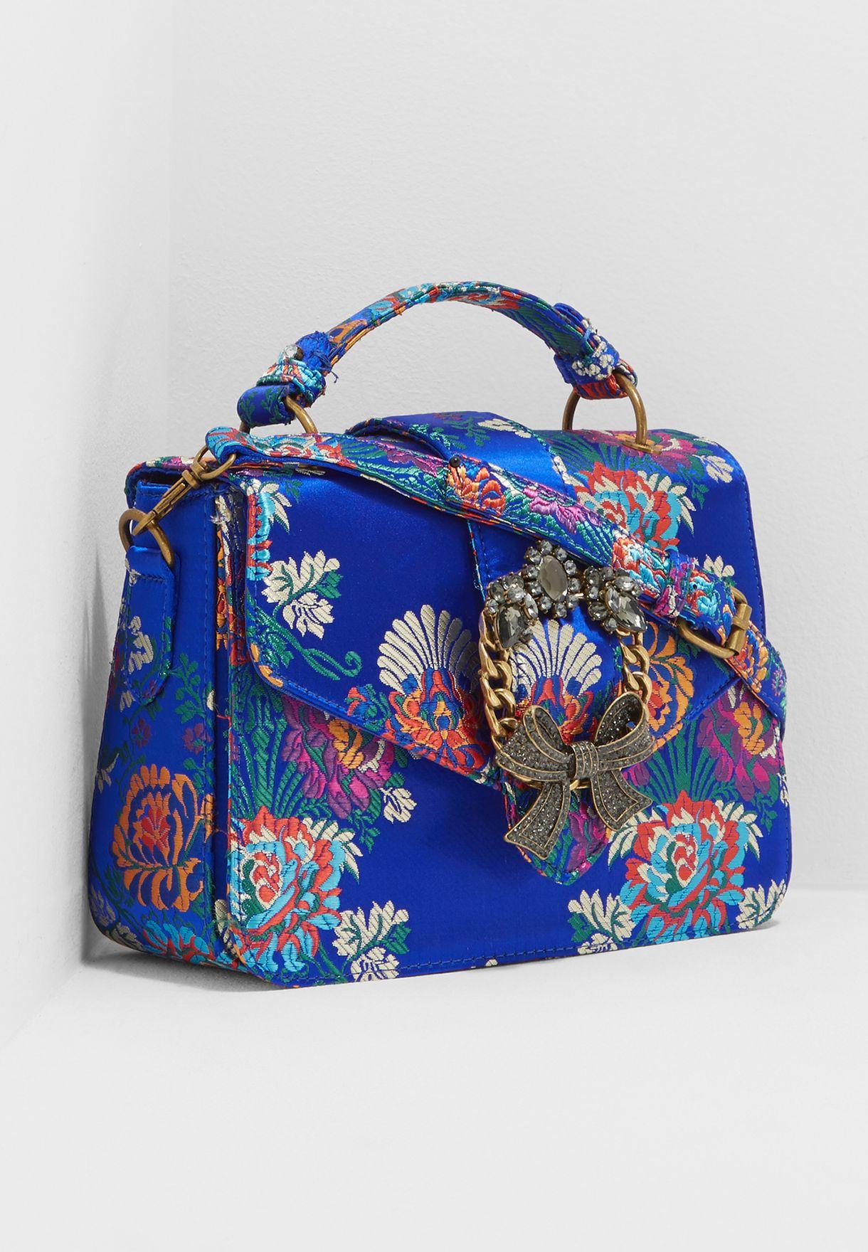 96faac42970 Shop Aldo blue Telawen Satchel TELAWEN8 for Women in Globally ...