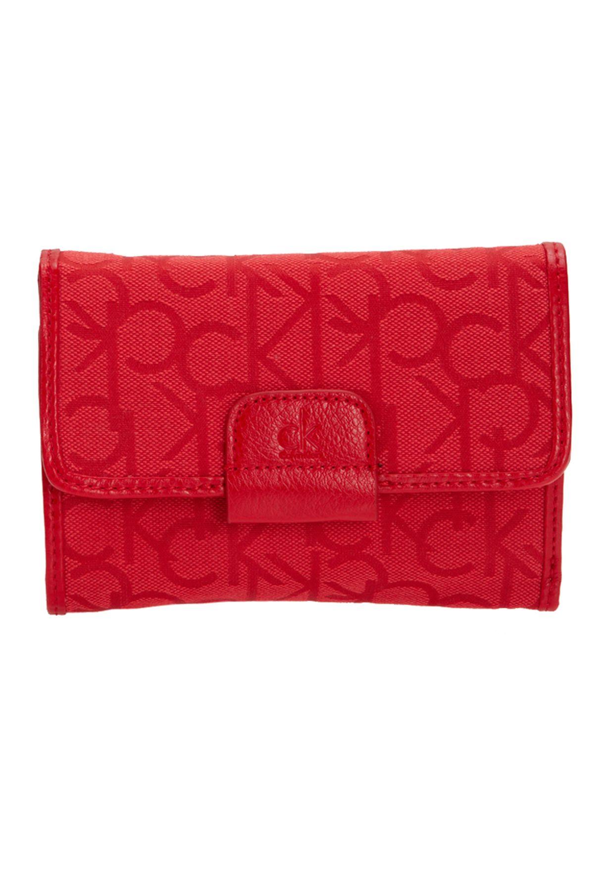2c2ce4b34 تسوق Purse ماركة كالفن كلاين جينز لون أحمر في قطر - CA294AC98KSV