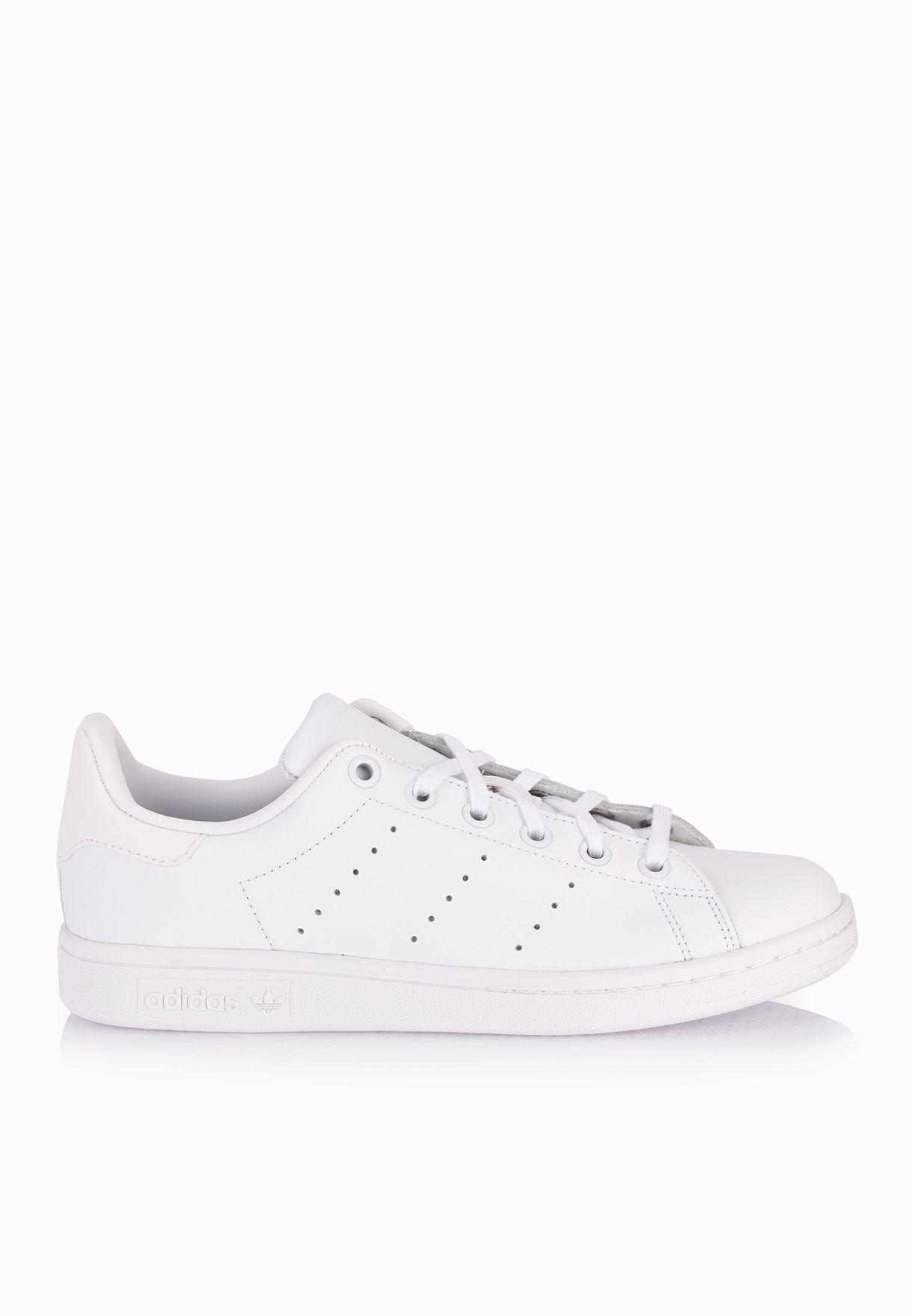 51908cba1 تسوق حذاء سنيكرز ستان سميث ماركة اديداس اورجينال لون أبيض S76330 في ...