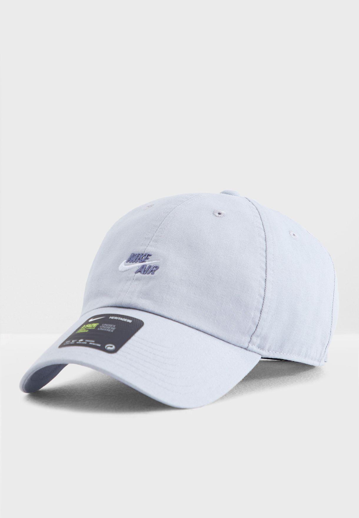 ed2fe8b0177 Shop Nike grey Air Heritage 86 Cap 891289-012 for Men in Saudi -  NI727AC98HKJ