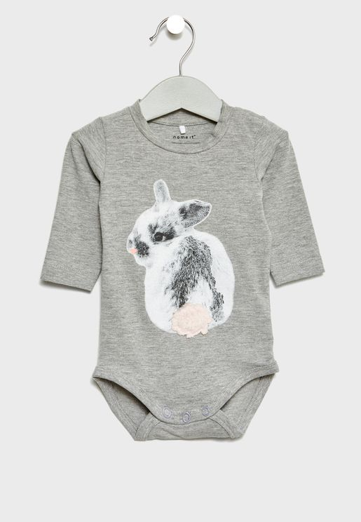 Infant Rabbit Bodysuit