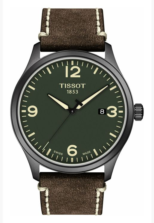 Tissot Tissot Gent XL Leather Strap Watch for Male - T116.410.36.097.00
