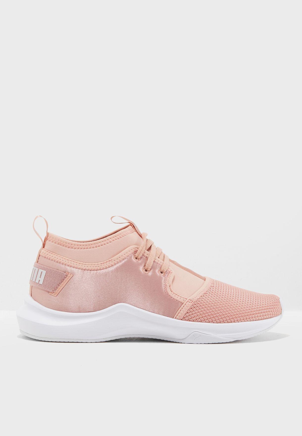 ff66886f8b2e Shop PUMA pink En Pointe Phenom Low Satin 19096902 for Women in Saudi -  PU020SH98YQR